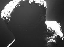 «Розетта» сфотографировала комету Чурюмова-Герасименко с темной стороны