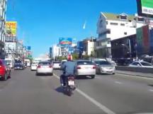 Взорвавшийся метеорит распугал жителей Бангкока
